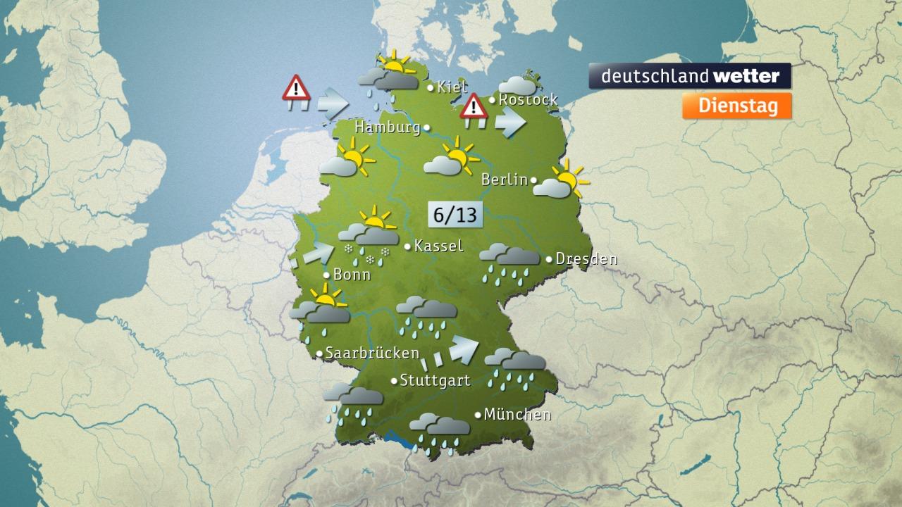 Das Weter im ZDF - Regenradar