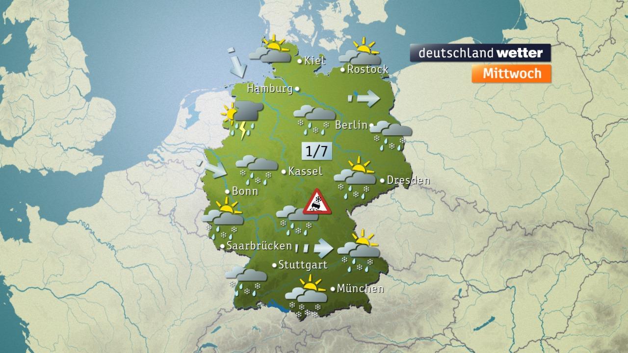 Wetter morgen vom ZDF